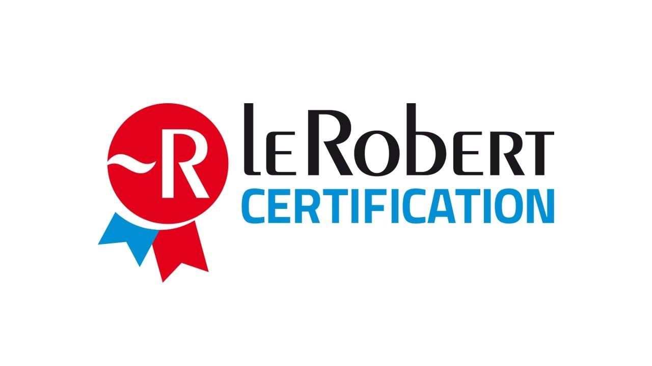 Le Robert Certification